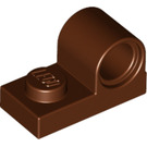 LEGO Reddish Brown Plate 1 x 2 with Pin Hole (11458)