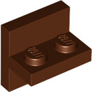 LEGO Reddish Brown Plate 1 x 2 with Vertical Tile 2 x 2 (41682)