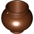 LEGO Reddish Brown Rounded Pot / Cauldron (98374)