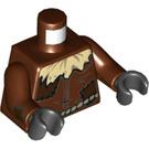 LEGO Reddish Brown Scarecrow Minifig Torso (76382)