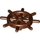 LEGO Reddish Brown Ship Wheel with Slotted Pin (4790)