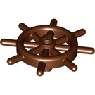 LEGO Reddish Brown Ship Wheel with Unslotted Pin (4790 / 52395)