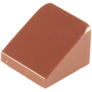 LEGO Reddish Brown Slope 1 x 1 (31°) (50746 / 54200)