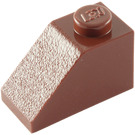 LEGO Reddish Brown Slope 1 x 2 (45°) (3040)