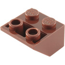 LEGO Reddish Brown Slope 45° 2 x 2 Inverted (3660)