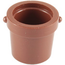 LEGO Reddish Brown Small Bucket (95343)