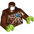 LEGO Reddish Brown Sparratus Minifig Torso (76382)
