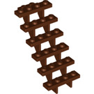 LEGO Reddish Brown Staircase 7 x 4 x 6 Open (30134)