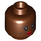 LEGO Storm Plain Head (Recessed Solid Stud) (3626 / 18086)