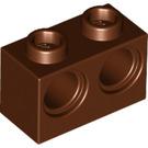 LEGO Reddish Brown Technic Brick 1 x 2 with 2 Holes (32000)