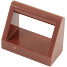 LEGO Reddish Brown Tile 1 x 2 with Handle (2432)