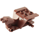 LEGO Reddish Brown Tricycle Body with Reddish Brown Chassis (15821 / 76040)