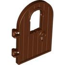 LEGO Reddish Brown Wooden Door 4 x 6 with Window (64390)