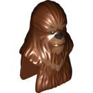 LEGO Reddish Brown Wookiee Upper Body and Head (19526)