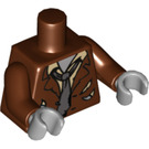 LEGO Reddish Brown Zombie Torso (88585)