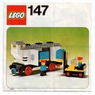 LEGO Refrigerated Wagon Set 147 Instructions