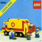 LEGO Refuse Collection Truck Set 6693