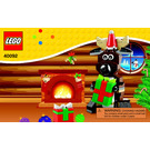 LEGO Reindeer Set 40092 Instructions