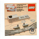 LEGO Remote Controlled Points Right 12 V Set 7858 Instructions