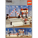 LEGO Remote Controlled Road Crossing 12 V Set 7866 Instructions
