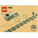 LEGO Remote Controlled Signal 12 V Set 7860 Instructions