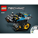 LEGO Remote-Controlled Stunt Racer Set 42095 Instructions