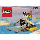 LEGO Renegade's Raft Set 6234 Instructions