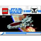 LEGO Republic Attack Cruiser Set 20007 Instructions