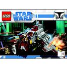 LEGO Republic Attack Shuttle Set 8019 Instructions