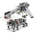 LEGO Republic Dropship with AT-OT Walker Set 10195