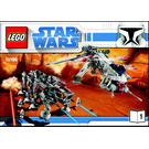 LEGO Republic Dropship with AT-OT Walker Set 10195 Instructions