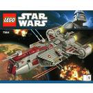 LEGO Republic Frigate Set 7964 Instructions