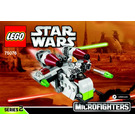 LEGO Republic Gunship Microfighter Set 75076 Instructions