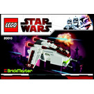 LEGO Republic Gunship Set 20010 Instructions