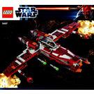 LEGO Republic Striker-class Starfighter Set 9497 Instructions