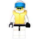 LEGO Res-Q with Life Jacket and White Helmet Minifigure