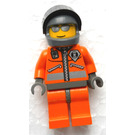 LEGO Rescue Chopper Pilot 2 (Dark Gray Hands) Minifigure