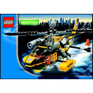 LEGO Rescue Chopper Set 7044 Instructions
