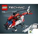 LEGO Rescue Helicopter Set 42092 Instructions