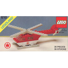 LEGO Rescue Helicopter Set 610-2