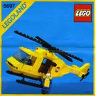 LEGO Rescue-I Helicopter Set 6697