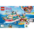 LEGO Rescue Mission Boat Set 41381 Instructions