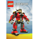 LEGO Rescue Robot Set 5764 Instructions