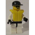 LEGO Rescuer with Sunglasses, Life Jacket and Cap Minifigure