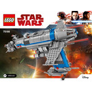LEGO Resistance Bomber Set 75188 Instructions