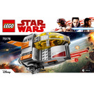 LEGO Resistance Transport Pod Set 75176 Instructions