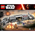 LEGO Resistance Troop Transporter Set 75140 Instructions
