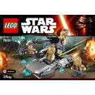 LEGO Resistance Trooper Battle Pack Set 75131 Instructions