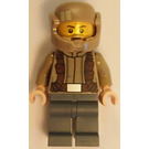 LEGO Resistance Trooper with Dark Tan Jacket and Frown (75131) Minifigure