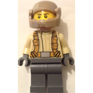 LEGO Resistance Trooper with Light Tan Jacket and Frown (75131) Minifigure
